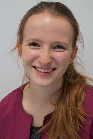 Auszubildende Tiermedizinische Fachangestellte Lara Langwieser